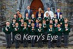 Killarney Monastery pupils at their First Holy Communion in St Marys Cathedral on Saturday with Fr Jim Linehan, Mary Brosnan Principal