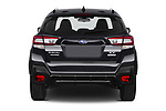 Straight rear view of 2020 Subaru XV-boxer Premium 5 Door SUV Rear View  stock images