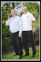 07/07/2010   Copyright  Pic : James Stewart.005_big_fish_printer  .::  GORDON BENNIE, MD OF BIG FISH, SWAPS THE SHOT PUTT FOR A PRINTER WITH BRITISH MASTER DECATHLETE KEN MONCRIEFF WHOSE COMPANY THE INFINITE GROUP WON THE PRINTER IN A PRIZE DRAW AT THE RECENT FALKIRK BUSINESS FAIR ::