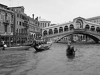 ITALY--VENICE--Black & White