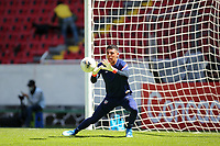 GUADALAJARA, MEXICO - MARCH 18: David Ochoa #20 of the United States before a game between Costa Rica and USMNT U-23 at Estadio Jalisco on March 18, 2021 in Guadalajara, Mexico.