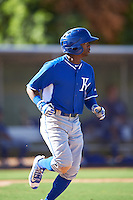 Kansas City Royals Rudy Martin (6) during an Instructional League game against the Texas Rangers on October 4, 2016 at the Surprise Stadium Complex in Surprise, Arizona.  (Mike Janes/Four Seam Images)