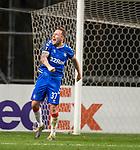 26.02.2020 SC Braga v Rangers: Scott Arfield at FT