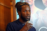 Jeff Ofori during a Press Conference at the Council Chamber, Bethnal Green on 10th August 2020