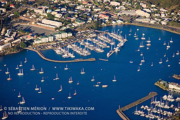 Marina Port du Sud, baie de l'Orphelinat, Nouméa, Nouvelle-Calédonie