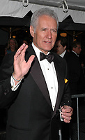 "08 November 2020 - Longtime ""Jeopardy!"" host Alex Trebek, died on Sunday at the age of 80 following a battle with pancreatic cancer. File Photo: 20 May 2005 - New York, New York - Jeopardy's Alex Trebek arrives at the 2005 Daytime Emmys at Radio City Music Hall in New York City. Photo Credit: Patti Ouderkirk/AdMedia"