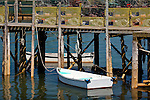 The fishing village of Beals Island in Jonesport, Downeast, ME, USA