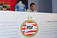 8th October 2020, Philips Stadium, Eindhoven, Netherlands; PSV introduce new signing Mario Gotze;  PSV player Mario Gotze during the presentation.