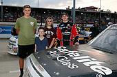 #18: Harrison Burton, Kyle Busch Motorsports, Toyota Tundra Safelite AutoGlass and guests