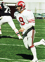 Mike McTague Calgary Stampeders 1983. Photo Scott Grant