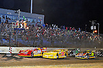 Feb 12, 2011; 9:07:17 PM; Gibsonton, FL., USA; The Lucas Oil Dirt Late Model Racing Series running The 35th annual Dart WinterNationals at East Bay Raceway Park.  Mandatory Credit: (thesportswire.net)