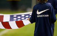 Nike soccer, USA flag..USA vs Honduras, Saturday Jan. 23, 2010 at the Home Depot Center in Carson, California. .Hoduras 3, USA 1.
