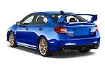 Car pictures of rear three quarter view of 2017 Subaru WRX STI - 4 Door Sedan Angular Rear