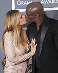Heidi Klum & Seal at The 52nd Annual GRAMMY Awards held at The Staples Center in Los Angeles, California on January 31,2010                                                                   Copyright 2009  DVS / RockinExposures