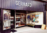 Gerhard Supply menswear clothing store at the Junction neighbourhood in Toronto, Canada