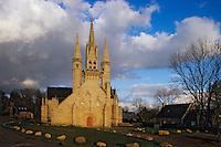 Europe/France/Bretagne/56/Morbihan/Le Faouët: La chapelle Saint-Fiacre (XVème - Architecture gothique flamboyante)