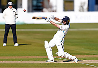 Adam Lyth hits out for Yorkshire during Kent CCC vs Yorkshire CCC, LV Insurance County Championship Group 3 Cricket at The Spitfire Ground on 17th April 2021