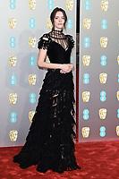Stacey Martin<br /> arriving for the BAFTA Film Awards 2019 at the Royal Albert Hall, London<br /> <br /> ©Ash Knotek  D3478  10/02/2019