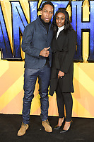"""Lemar<br /> arriving for the """"Black Panther"""" premiere at the Hammersmith Apollo, London<br /> <br /> <br /> ©Ash Knotek  D3376  08/02/2018"""