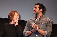 NATHALIE BAYE ET TAREK BOUDALI - 20EME FESTIVAL INTERNATIONAL DU FILM DE COMEDIE DE L'ALPE D'HUEZ 2017