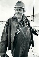 Drill Foreman <br /> <br /> 1973<br /> <br /> PHOTO :  Bob Olsen - Toronto Star Archives - AQP