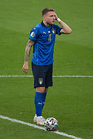 Ciro Immobile of Italy during the Uefa Euro 2020 Final football match between Italy and England at Wembley stadium in London (England), July 11th, 2021. <br /> Photo Andrea Staccioli / Insidefoto