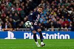 Neymar Jr of Paris Saint-Germain FC during UEFA Champions League match between Real Madrid and Paris Saint-Germain FC at Santiago Bernabeu Stadium in Madrid, Spain. November 26, 2019. (ALTERPHOTOS/A. Perez Meca)