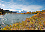 Oxbow Bend, Snake River, Grand Tetons, Mount Moran, Grand Teton National Park, Wyoming