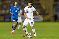 Cristian Roldan #10 of the United States moves with the ball