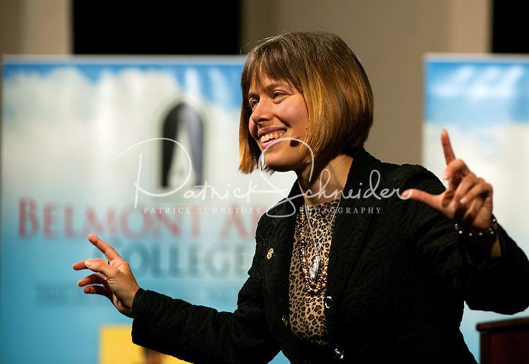07/11/09 - Envoy Institute - Dawn Eden at Belmont Abbey College, in Belmont, North Carolina. Photography By: Patrick Schneider Photo.com.