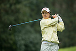 Bo Kyung Kim of South Korea tees off at the 14th hole during Round 2 of the World Ladies Championship 2016 on 11 March 2016 at Mission Hills Olazabal Golf Course in Dongguan, China. Photo by Victor Fraile / Power Sport Images