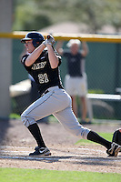 March 13, 2010:  Outfielder Ben Koenigsfeld of Army vs. Long Island University Blackbirds in a game at Henley Field in Lakeland, FL.  Photo By Mike Janes/Four Seam Images