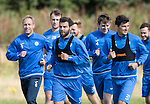 St Johnstone Training….26.08.16<br />Richie Foster pictured during training this morning at McDiarmid Park ahead of tomorrow's trip to Inverness<br />Picture by Graeme Hart.<br />Copyright Perthshire Picture Agency<br />Tel: 01738 623350  Mobile: 07990 594431