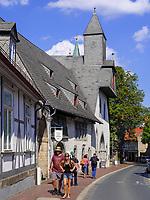 Hospiz Großes Heiliges Kreuz von 1254, Goslar, Niedersachsen, Deutschland, Europa, UNESCO-Weltkulturerbe<br /> hosptal Great Holy Cross  frim 1254, Goslar, Lower Saxony,, Germany, Europe, UNESCO Heritage Site