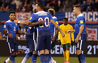 St. Louis, Mo. - Friday, November 13, 2015: The USMNT go up 4-1 over St. Vincent and the Grenadines during their 2018 FIFA World Cup Qualifying match at Busch Stadium.