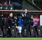 13.12.2020 Dundee Utd v Rangers: Rangers manager Steven Gerrard<br /> <br /> pool image via Scottish Sun