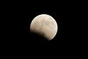 October 8 2014 Blood Moon lunar eclipse in Japan