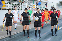 20190227 - LARNACA , CYPRUS : illustration picture during a women's soccer game between Korea DPR and Czech Republic , on Wednesday 27 February 2019 at the GSZ Stadium in Larnaca , Cyprus . This is the first game in group A for both teams during the Cyprus Womens Cup 2019 , a prestigious women soccer tournament as a preparation on the Uefa Women's Euro 2021 qualification duels and the Fifa World Cup France 2019. PHOTO SPORTPIX.BE | STIJN AUDOOREN