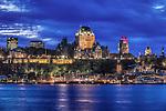 Canada, Quebec, Twilight Quebec City