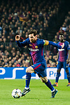 Lionel Andres Messi of FC Barcelona runs with the ball during the UEFA Champions League 2017-18 Round of 16 (2nd leg) match between FC Barcelona and Chelsea FC at Camp Nou on 14 March 2018 in Barcelona, Spain. Photo by Vicens Gimenez / Power Sport Images