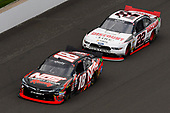 NASCAR XFINITY Series<br /> Lilly Diabetes 250<br /> Indianapolis Motor Speedway, Indianapolis, IN USA<br /> Saturday 22 July 2017<br /> Kyle Busch, NOS Energy Drink Rowdy Toyota Camry and Joey Logano, Discount Tire Ford Mustang<br /> World Copyright: Nigel Kinrade<br /> LAT Images