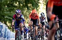 Hannah Barnes (GBR/Canyon-Sram) up the Kemmelberg<br /> <br /> 9th Gent-Wevelgem in Flanders Fields 2020<br /> Elite Womens Race (1.WWT)<br /> <br /> One Day Race from Ypres (Ieper) to Wevelgem 141km<br /> <br /> ©kramon
