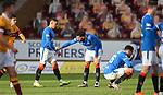 17.01.2021 Motherwell v Rangers: Rangers at full time