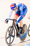 Christopher Latham of Great Britain competes on the Men's Omnium Tempo Race 10km during the 2017 UCI Track Cycling World Championships on 15 April 2017, in Hong Kong Velodrome, Hong Kong, China. Photo by Marcio Rodrigo Machado / Power Sport Images