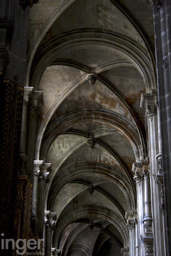 Inside Sacre Coeur, France