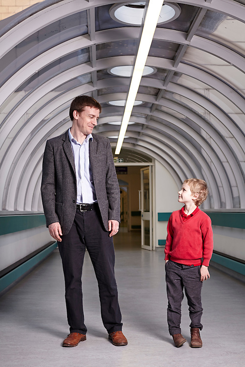 © John Angerson<br /> 140311 - Cancer children Feature<br /> Henry Davison and father