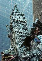 New York: Ruckus Manhattan, 1976. Woolworth Tower. Red Grooms. Photo '78.