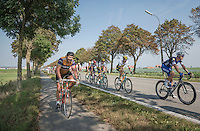 where ever you race in Belgium, you just might run into an Eddy Merckx (lookalike)...<br /> <br /> 12th Eneco Tour 2016 (UCI World Tour)<br /> stage 3: Blankenberge-Ardooie (182km)