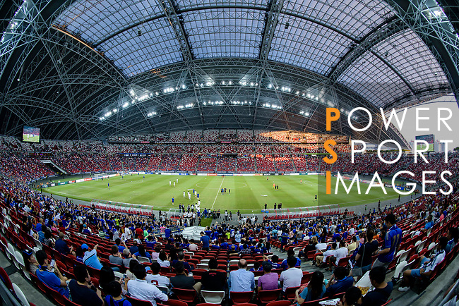 A general view of Singapore National Stadium during the International Champions Cup 2017 match between FC Internazionale and Chelsea FC on July 29, 2017 in Singapore. Photo by Weixiang Lim / Power Sport Images