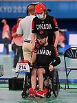 Danik Allard, Tokyo 2020 - Boccia.<br /> Danik Allard competes in Mixed Individual - BC2 Preliminaries Pool B // Danik Allard participe à mixte individuelle - BC2 Préliminaires groupe B. 08/30/2021.